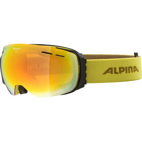 Alpina Granby HM Goggles curry/red